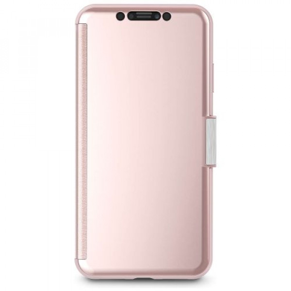 Чехол-книжка Moshi StealthCover Portfolio Case Champagne Pink for iPhone XS Max (99MO102303)