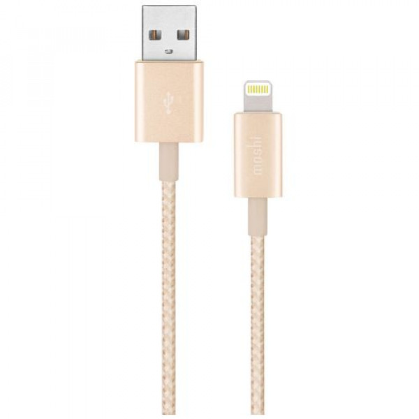 Кабель Moshi Integra™ Lightning to USB Cable Gold (1.2 m) (99MO023223)