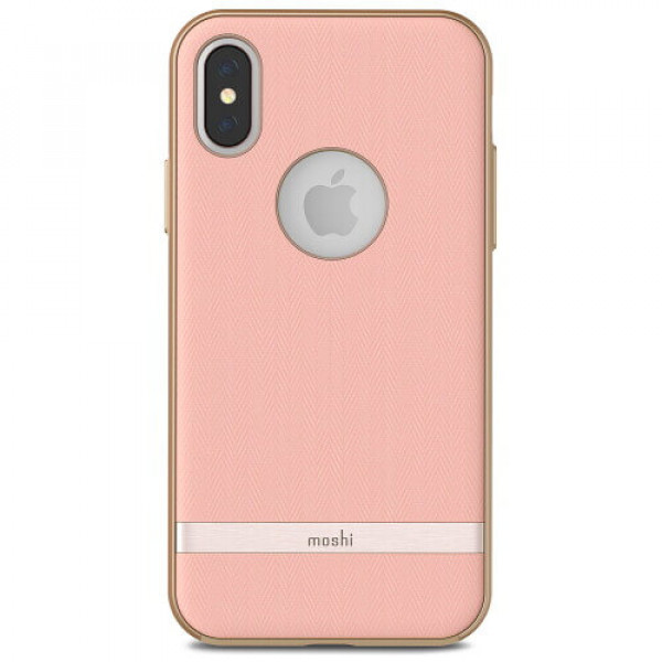 Чехол-накладка Moshi Vesta Textured Hardshell Case Blossom Pink for iPhone XS/X (99MO101302)