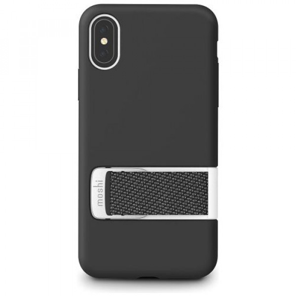 Чехол-накладка Moshi Capto Slim Case with MultiStrap Mulberry Black for iPhone XS/X (99MO114003)