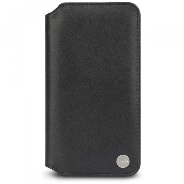 Чехол-книжка Moshi Overture Wallet Case Charcoal Black for iPhone XS Max (99MO091011)