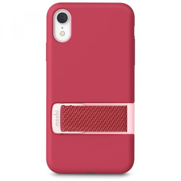 Чехол-накладка Moshi Capto Slim Case with MultiStrap Raspberry Pink for iPhone XR (99MO114301)