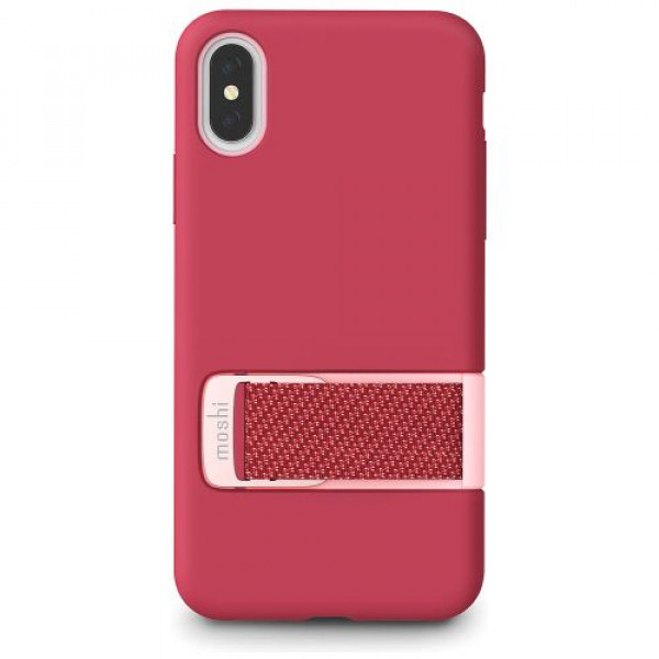 Чехол-накладка Moshi Capto Slim Case with MultiStrap Raspberry Pink for iPhone XS/X (99MO114303)