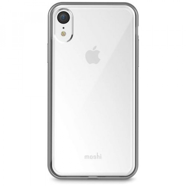 Чехол-накладка Moshi Vitros Slim Stylish Protection Case Jet Silver for iPhone XR (99MO103202)