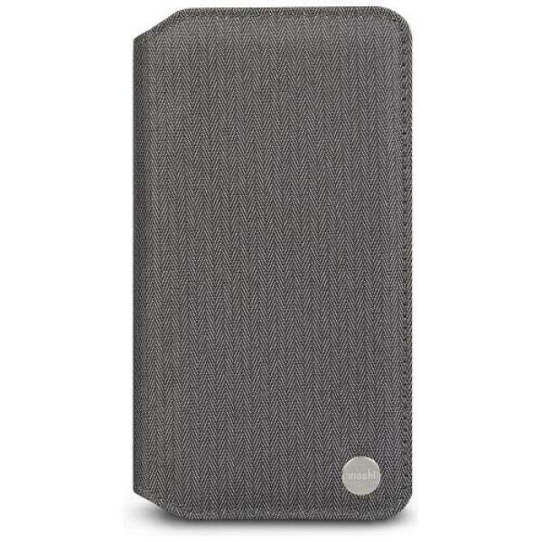 Чехол-книжка Moshi Overture Wallet Case Herringbone Gray for iPhone XS Max (99MO091052)