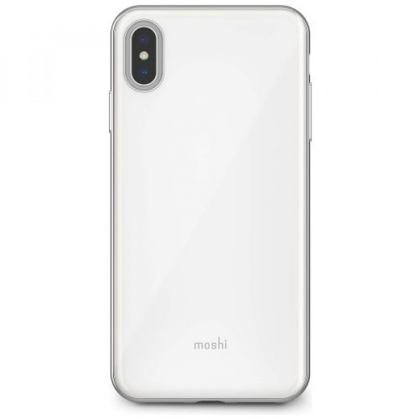 Чехол-накладка Moshi iGlaze Slim Hardshell Case Pearl White for iPhone XS Max (99MO113102)