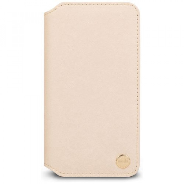 Чехол-книжка Moshi Overture Wallet Case Beige for iPhone XR (99MO091261)