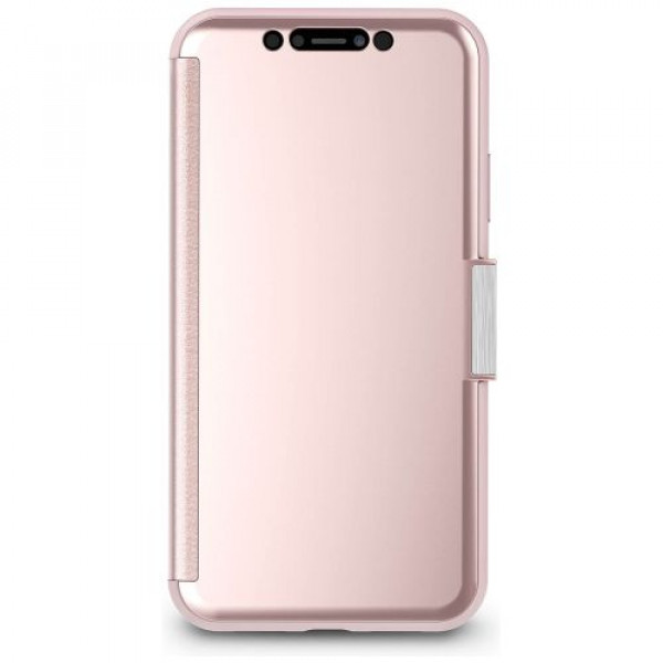 Чехол-книжка Moshi StealthCover Portfolio Case Champagne Pink for iPhone XR (99MO102302)