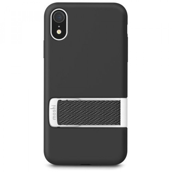 Чехол-накладка Moshi Capto Slim Case with MultiStrap Mulberry Black for iPhone XR (99MO114001)