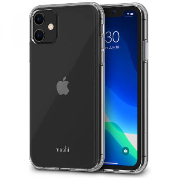 Чехол-накладка Moshi Vitros Slim Clear Case Crystal Clear for iPhone 11 (99MO103907)