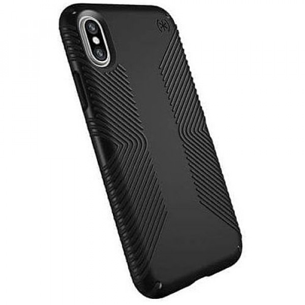 Чехол-накладка Speck for Apple iPhone XS/X Presidio Grip Black (SP-103131-1050)