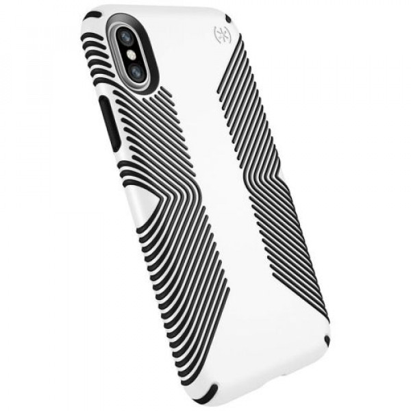Чехол-накладка Speck for Apple iPhone XS/X Presidio Grip White (SP-103131-1909)