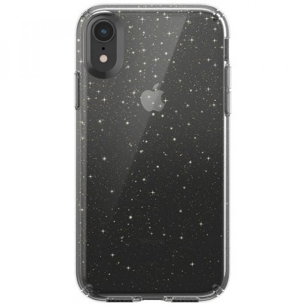 Чехол-накладка Speck for Apple iPhone XR Presidio Clear + Glitter Clear with Gold Glitter/Clear (SP-117068-5636)