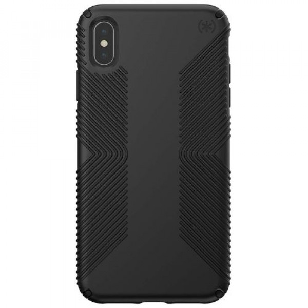 Чехол-накладка Speck for Apple iPhone Xs Max PRESIDIO Grip Black/Black (SP-117106-1050)
