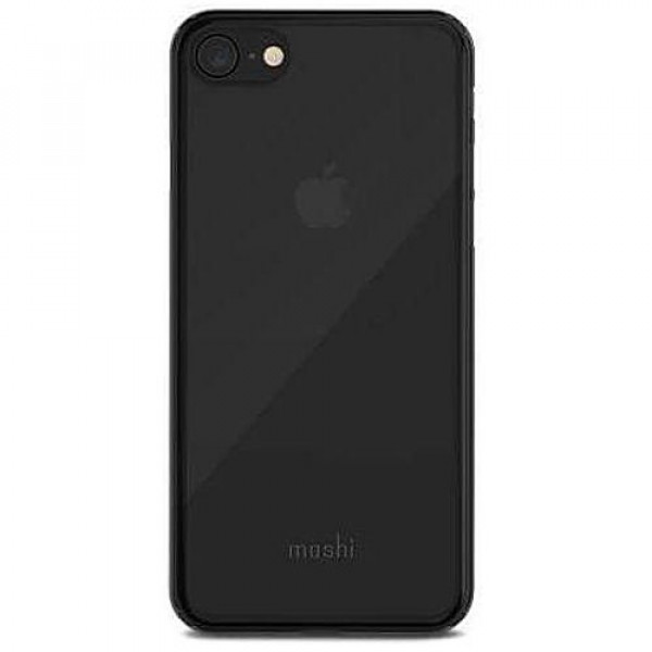 Чехол-накладка Moshi SuperSkin Exceptionally Thin Protective Case Stealth Black for iPhone 8/7 (99MO111061)