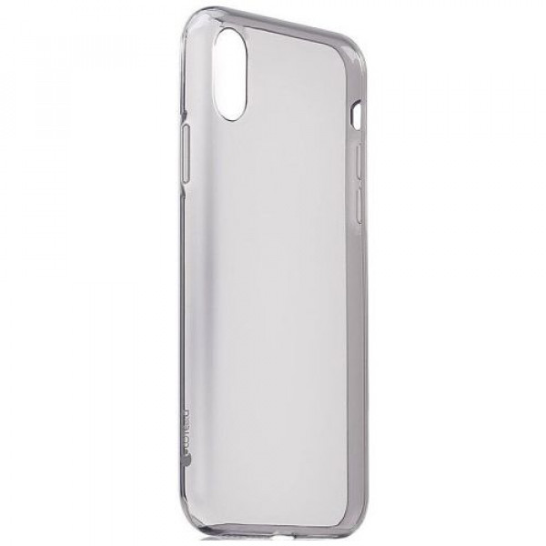 Чехол-накладка COTEetCI Utra-thin TPU Case for iPhone X Transparent Black (CS8003-TK)