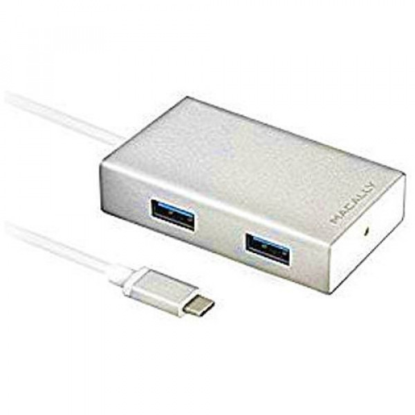 Адаптер Macally 3.1 USB-C to 4 port USB-A hub (UC3HUB)