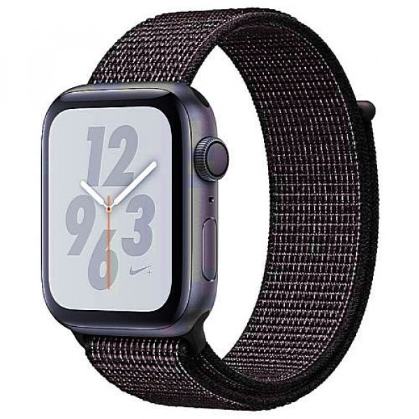 Apple WATCH Nike+ Series 4 GPS 40mm Space Gray Aluminum Case with Black Nike Sport Loop (MU7G2)
