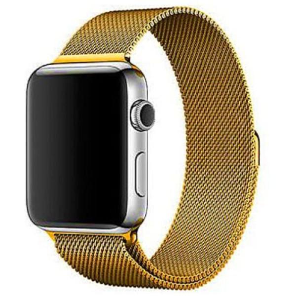 Ремешок COTEetCI W6 Magnet Band for Apple Watch 38mm Gold