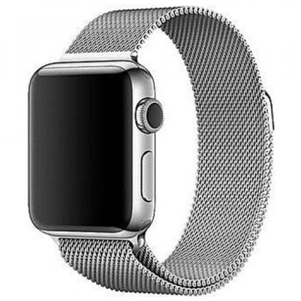 Ремешок COTEetCI W6 Magnet Band for Apple Watch 42mm Silver