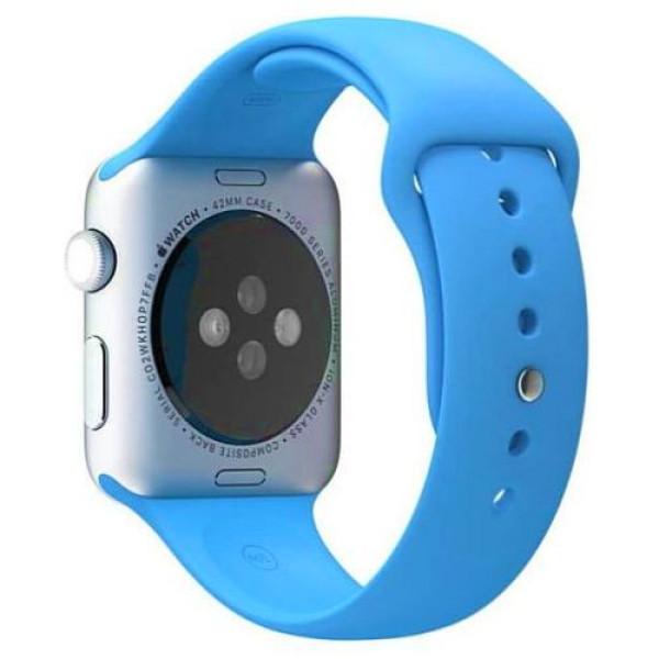 Ремешок COTEetCI W3 Sport Band for Apple Watch 38mm Blue