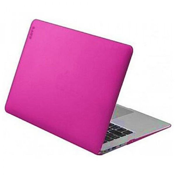 Чехол-накладка LAUT HUEX for MacBook Air 13'' fuchsia LAUT_MA13_HX_P2)