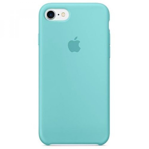 Чехол-накладка Apple iPhone 7/8 Silicone Case Sea Blue (MMX02)