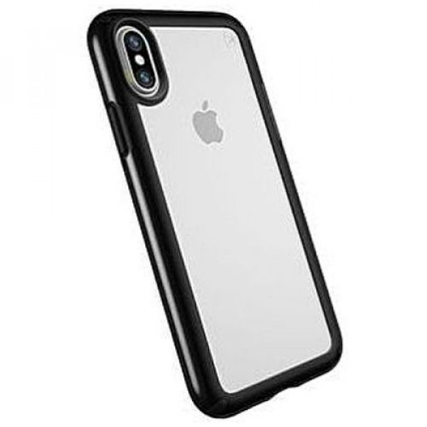 Чехол-накладка Speck for Apple iPhone XS/X Presidio Clear/Black (SP-103134-5905)