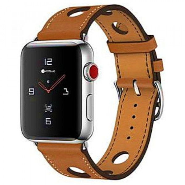 Ремешок COTEetCI W15 Fashion Leather for Apple Watch 38mm Brown (WH5220-KR)