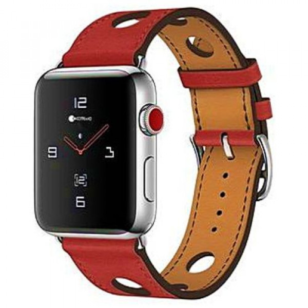 Ремешок COTEetCI W15 Fashion Leather for Apple Watch 38mm Red (WH5220-RD)
