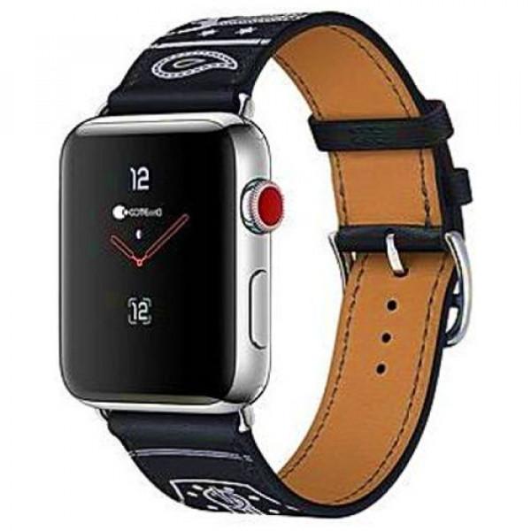 Ремешок COTEetCI W13 Fashion Leather for Apple Watch 42mm Black (WH5219-BK)