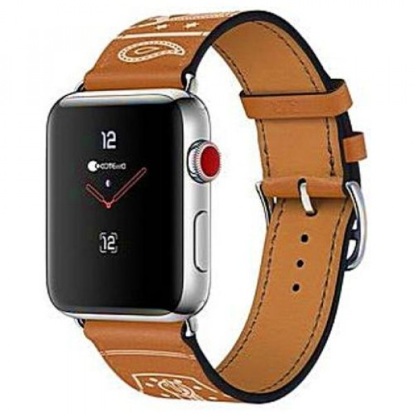 Ремешок COTEetCI W13 Fashion Leather for Apple Watch 38mm Brown (WH5218-KR)