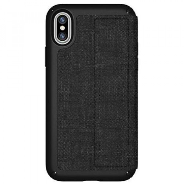Чехол-накладка Speck for Apple iPhone XS/X Presidio Folio Black/Grey (SP-110575-7358)