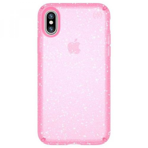 Чехол-накладка Speck for Apple iPhone XS/X Presidio Bella Pink with Glitter/Bella (SP-103132-6603)