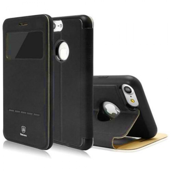 Чехол-накладка Baseus Simple Series Leather Case iPhone 7/8 Black
