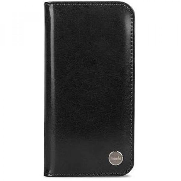Чехол-книжка Moshi Overture Wallet Case Charcoal Black for iPhone X (99MO101002)