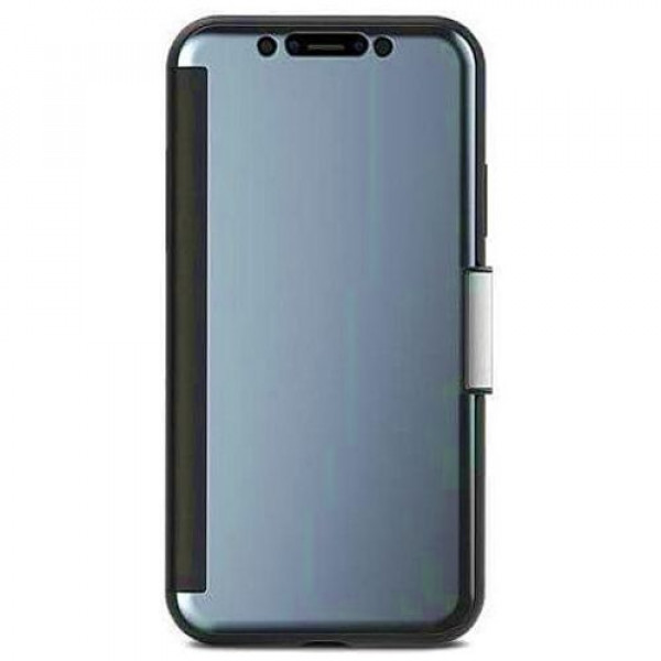 Чехол-накладка Moshi StealthCover Slim Folio Case Gunmetal Gray for iPhone XS/X (99MO102021)