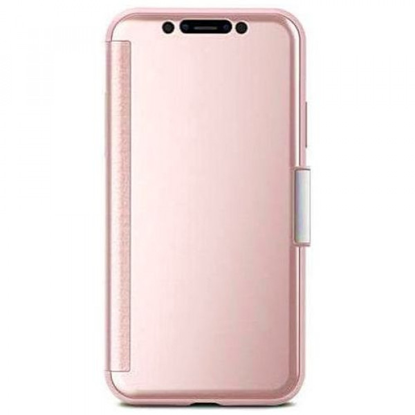 Чехол-книжка Moshi StealthCover Slim Folio Case Champagne Pink for iPhone XS/X (99MO102301)