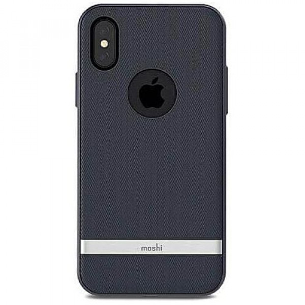 Чехол-накладка Moshi Vesta Textured Hardshell Case Bahama Blue for iPhone X (99MO101511)