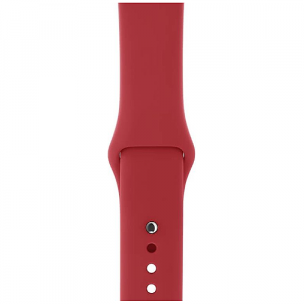 Ремешок Apple Watch 42/44mm (PRODUCT)RED Sport Band (MQXE2)