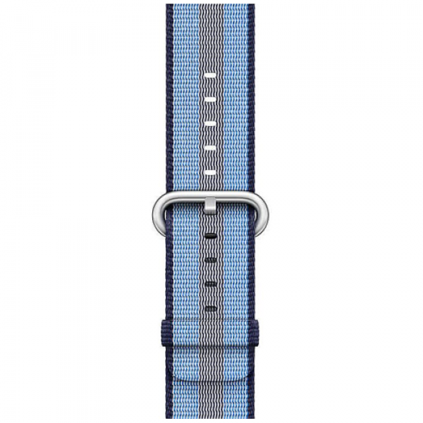 Ремешок Apple Watch 42/44mm Midnight Blue Stripe Woven Nylon (MQVU2)