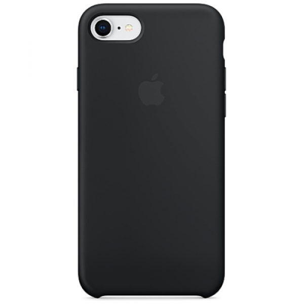 Чехол-накладка Apple iPhone 7/8 Silicone Case Black (MMW82)