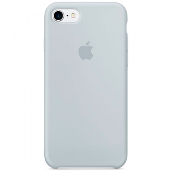 Чехол-накладка Apple iPhone 7/8 Silicone Case Mist Blue (MQ582)
