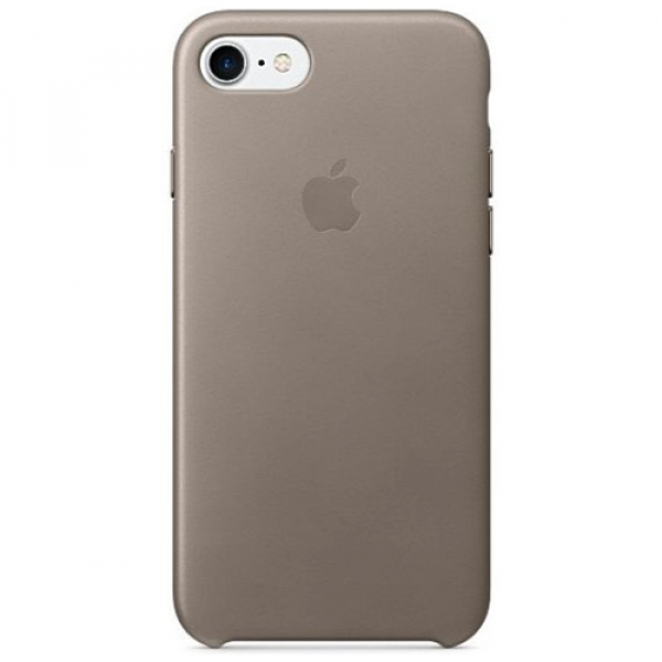 Чехол-накладка Apple iPhone 7/8 Leather Case Taupe (MPT62)