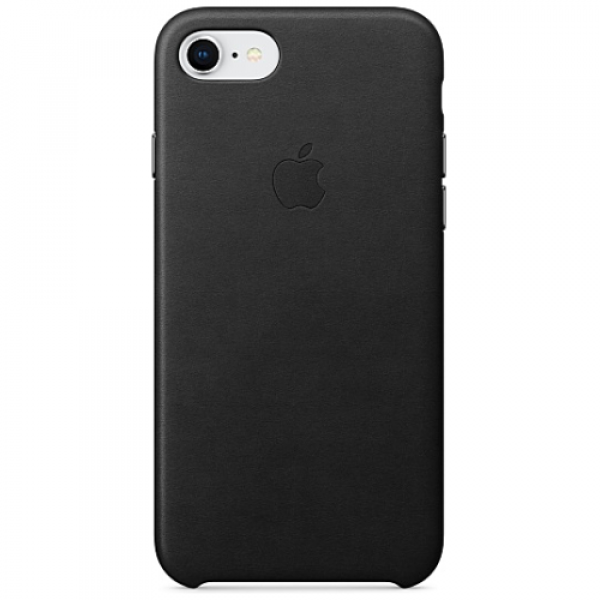 Чехол-накладка Apple iPhone 7/8 Leather Case Black (MMY52)