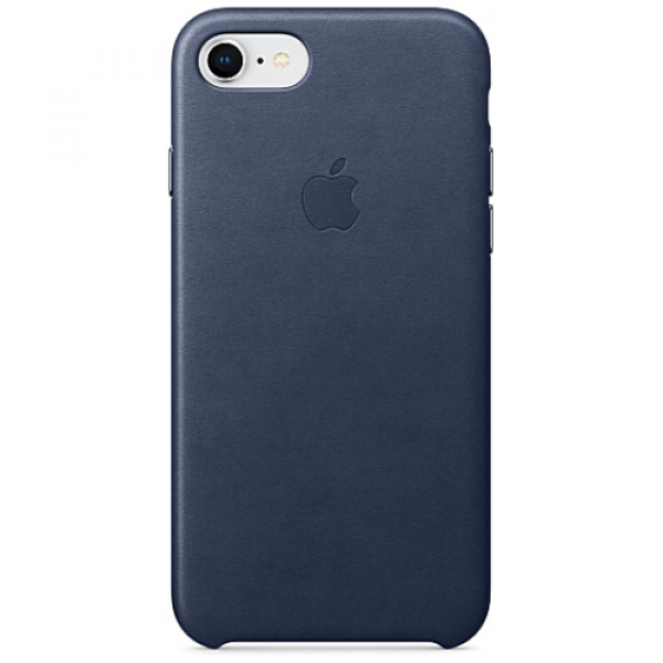 Чехол-накладка Apple iPhone 7/8 Leather Case Midnight Blue (MMY32)
