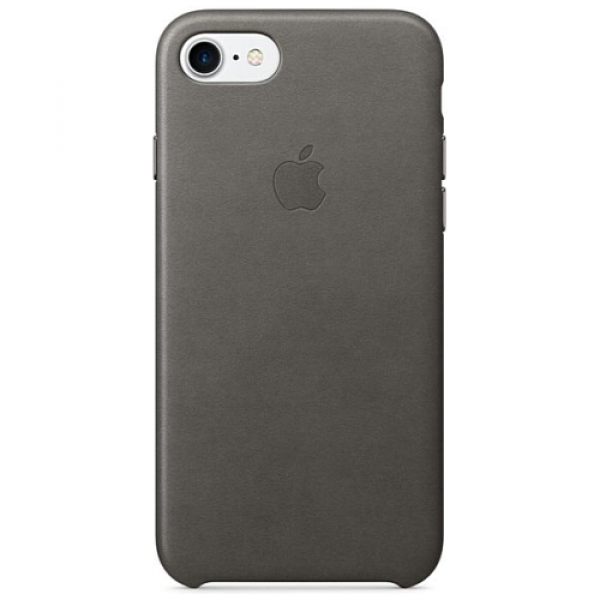 Чехол-накладка Apple iPhone 7/8 Leather Case Storm Gray (MMY12)