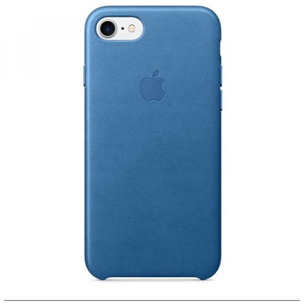 Чехол-накладка Apple iPhone 7/8 Leather Case Sea Blue (MMY42)