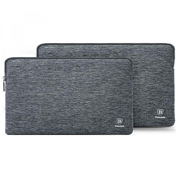 Чехол-карман Baseus Laptop Bag For MacBook 15-inch Gray