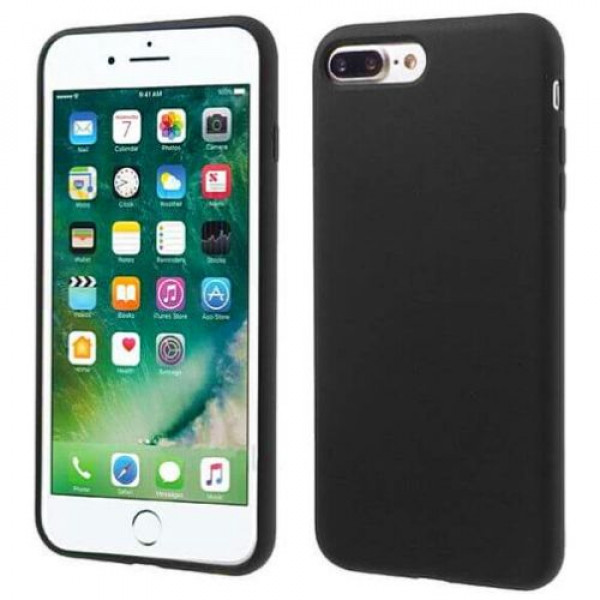 Чехол-накладка COTEetCI Silicone Case for iPhone 7Plus/8Plus Black